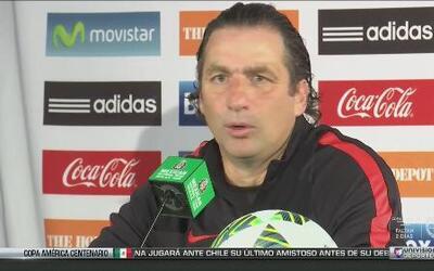 """Juan Antonio Pizzi: """"Confío plenamente en mi, mi cuerpo técnico y en mis..."""
