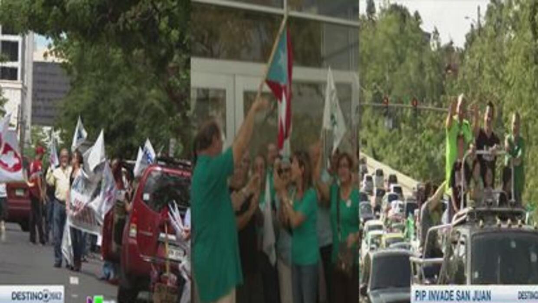 Aumentan las caravanas rumbo a Destino 2012