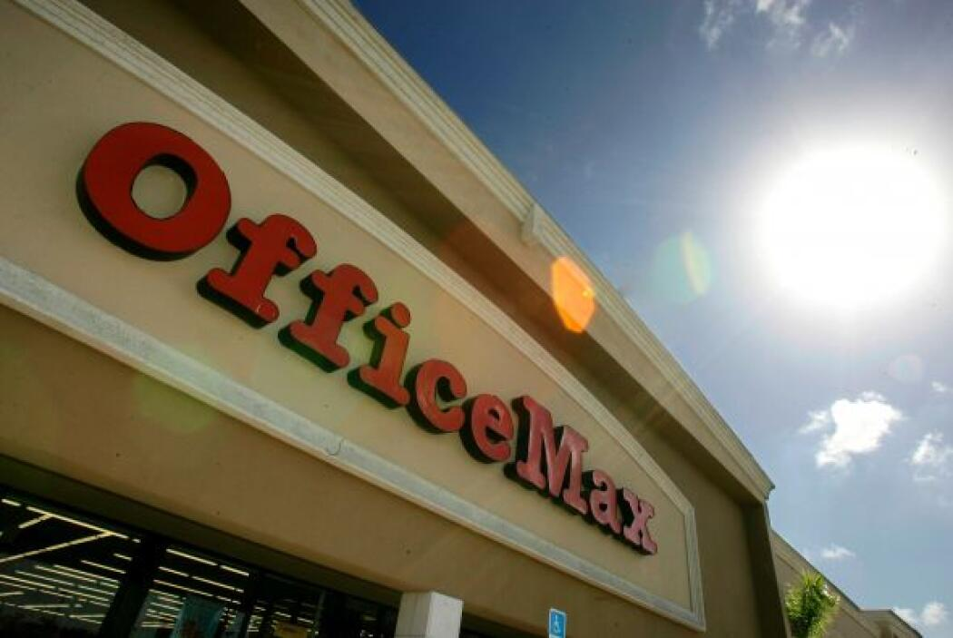 OFFICEMAX- La tienda que vende objetos de oficina abrirá sus puertas a s...