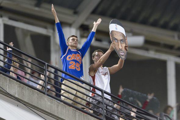 El hijo pródigo del Estado de Ohio está de regreso en Cleveland...