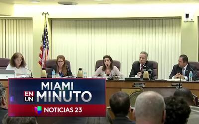 'Miami en un Minuto': comisión de North Miami Beach decide privatizar el...