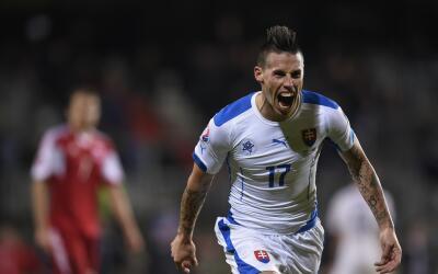 Eslovaquia disputará su primera Eurocopa