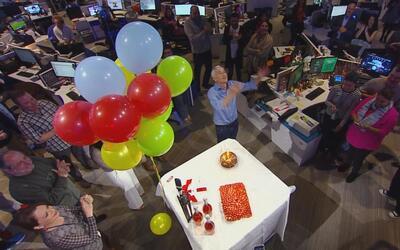 Así le celebramos el cumpleaños a Jorge Ramos