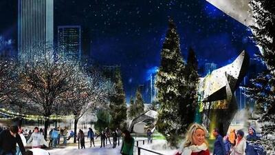 En las inmediaciones del nuevo Maggie Daley Park a lado del Millenium Pa...