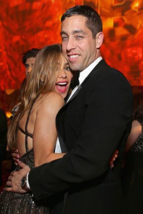 ¡Cuánto amor, Sofía! Mira cómo abraza a su adorado Nick Loeb.Mira aquí l...