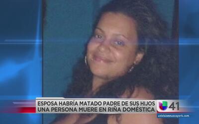 Mujer asesina a novio