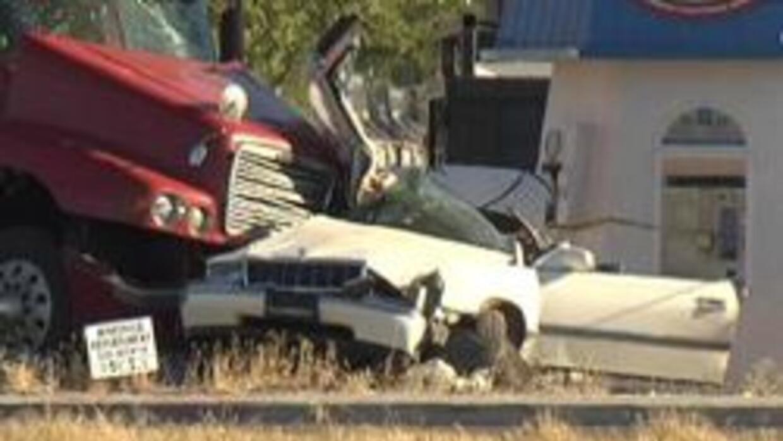 Foto de la escena del accidente