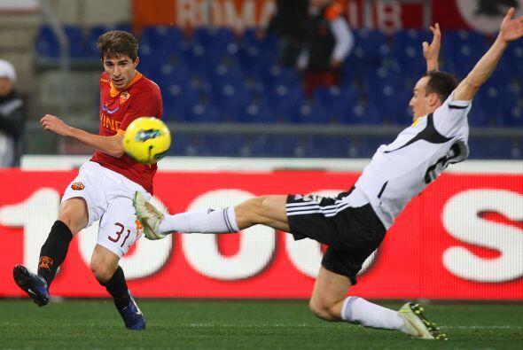 Roma jugó de local y antes de los 10 minutos del primer tiempo, ya ganab...