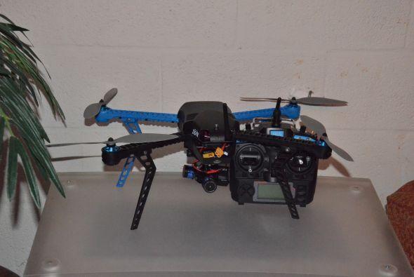 Un objeto muy curioso llega al programa, se trata de un 'dron', que de m...