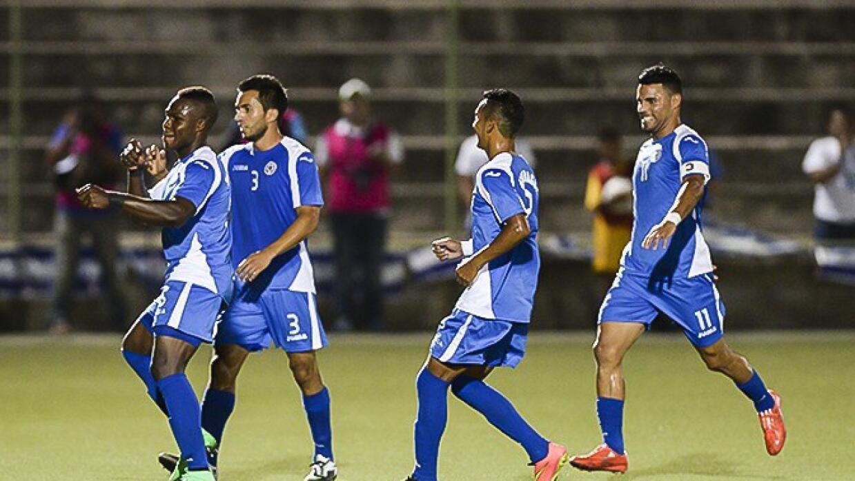 Nicaragua ganó la ida por marcador de 3-2 a Jamaica