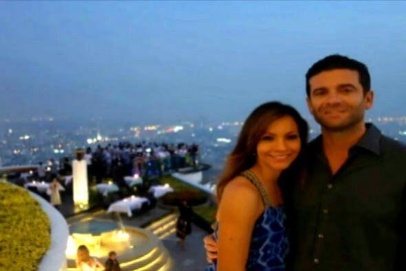 Satcha y su esposo, Aaron Butler, llevan siete años y medio junto...