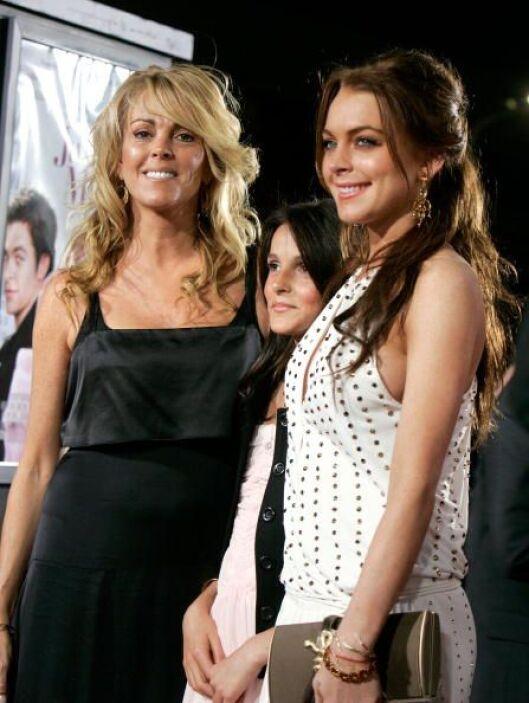 Lindsay y Dina Lohan:Aunque hace algún tiempo se dieron tremendo 'agarró...
