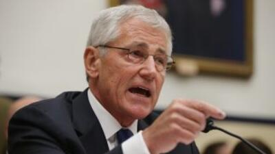 Chuck Hagel, Secretario de Defensa de Estados Unidos