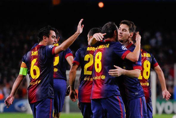 Andrés Iniesta firmó una excelente jugada colectiva que hiló junto a Xav...