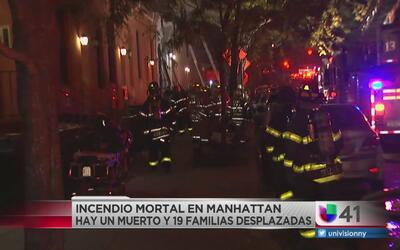 Incendio mortal en complejo de apartamentos de Manhattan