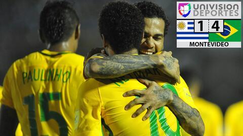 Uruguay 1-4 Brasil