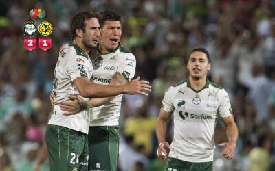 Santos logró una gran victoria ante América en el ú...