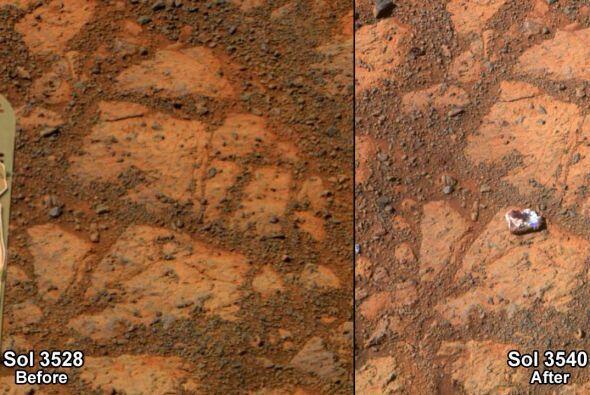 ¿De dónde salió esta misteriosa roca? | Científicos de la sonda marciana...