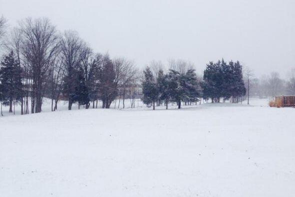Así luce el noreste del país por las fuertes nevadas que se encuentran a...