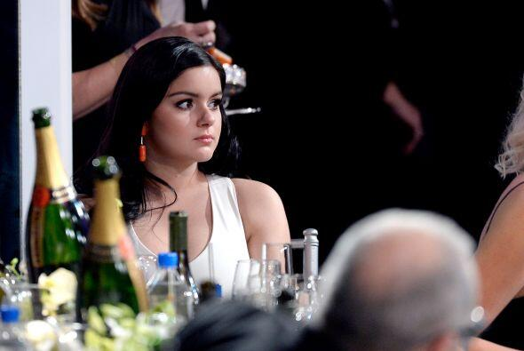 Ariel Winter de 'Modern Family', viendo la ceremonia.