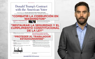 """#EnriqueExplica cuánto logró Trump de su """"contrato con el votante"""" en su..."""