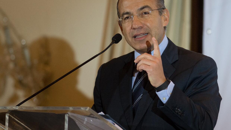 Felipe Calderón, expresidente de México.