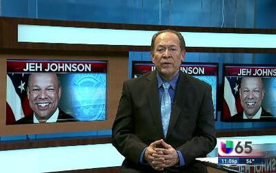 Jeh Johnson busca estrategia con ICE en Filadelfia