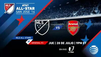 Arsenal será el rival del Partido de las Estrellas AT&T 2016