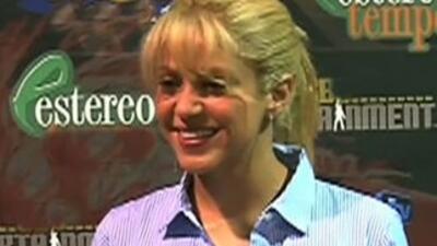 Shakira viajó a Puerto Rico a acompañar a Piqué a un juego