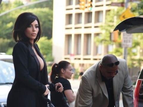 Kim Kardashian nuevamente nos dejó con la boda abierta.Más...