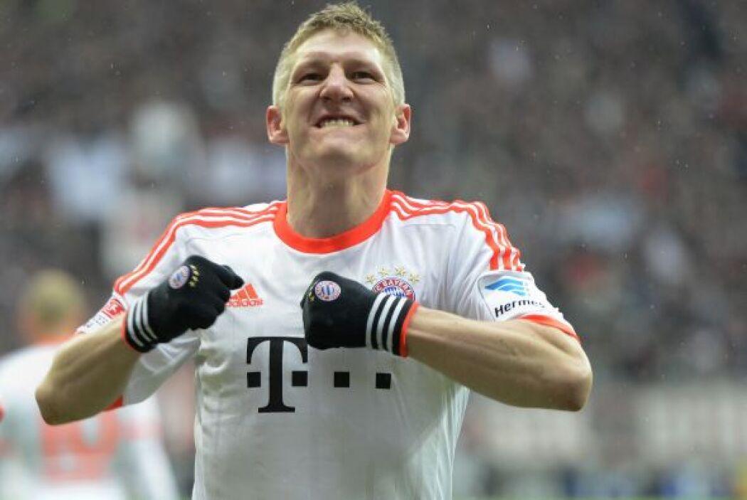 El séptimo tanto de Schweinsteiger demostró ser el de la buena suerte.