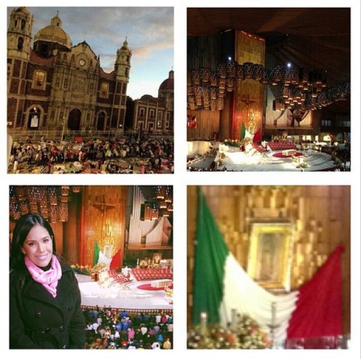 """""""Feliz cumpleaños Virgencita de Guadalupe! Celebrando con mucho amor en..."""