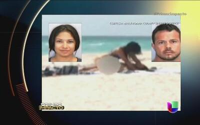 Arrestan a una pareja por tener relaciones sexuales en una playa pública