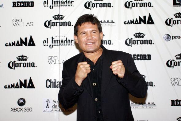 Julio César Chávez González es un campeon de campeones en el área de box...