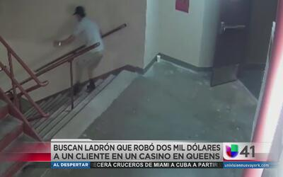 Ladrón robó dos mil dólares