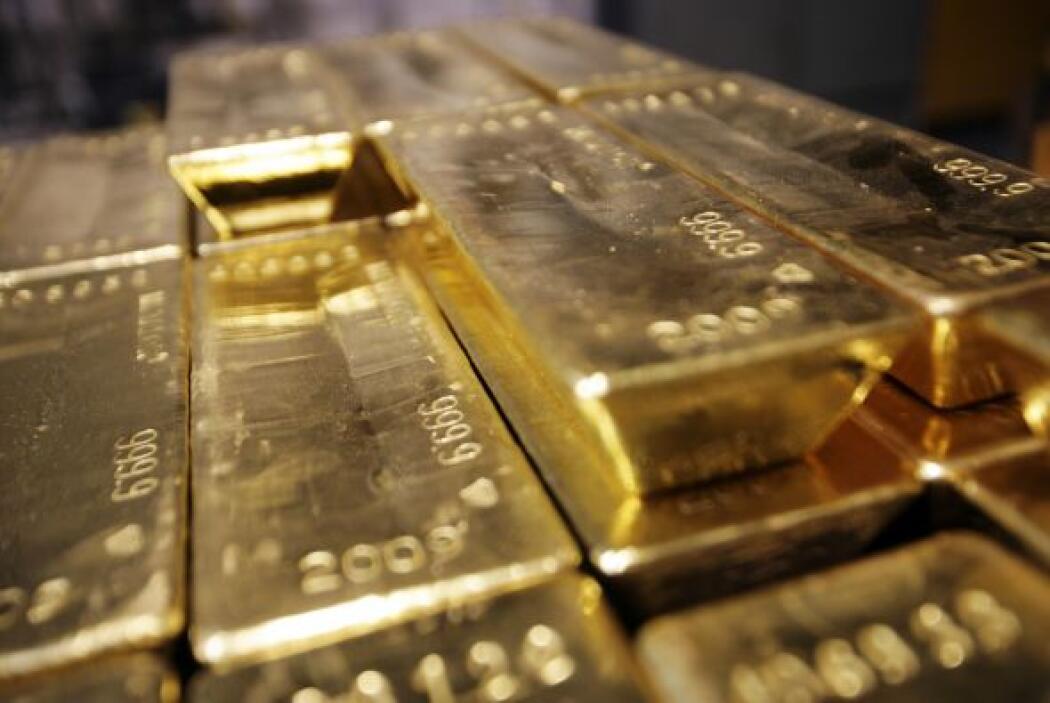 Esas 555.3 toneladas representan el 31.3% de las divisas de la Unión Eur...