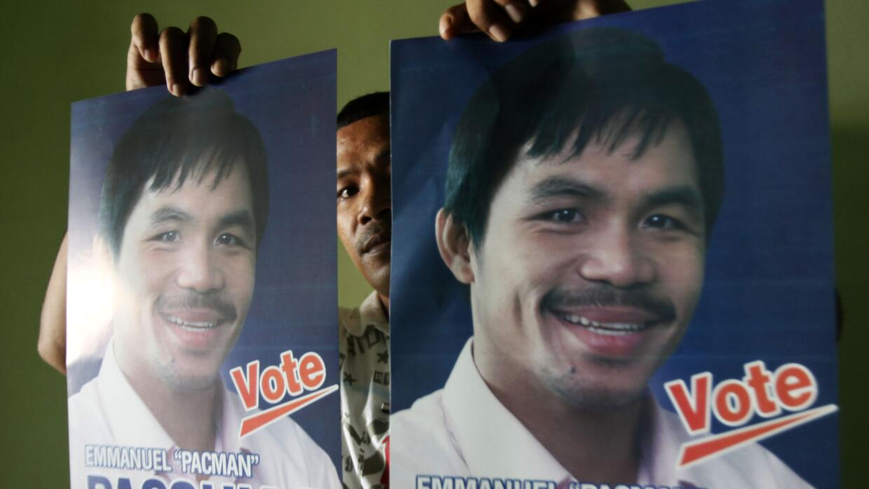 Pacquiao candidato al Senado.