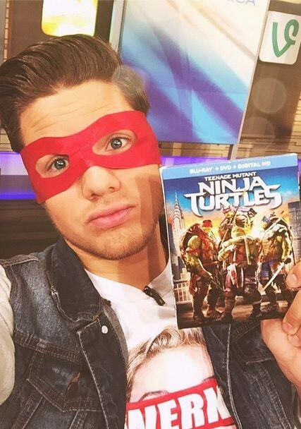 """""""Thank you #TeenMutantNinjaTurtles for sending me this cool masks and th..."""