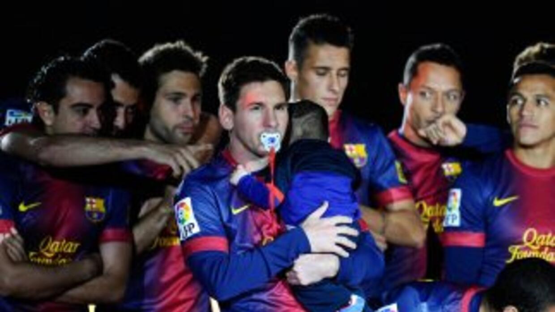 """El tango """"Al Messi que fue papá"""" fue compuesto poco después de que el as..."""