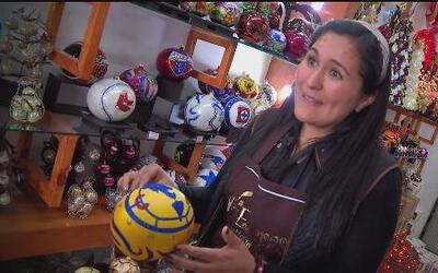 Esferas navideñas de Puebla para el mundo