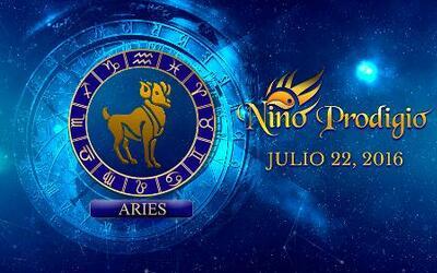 Niño Prodigio - Aries 22 de Julio, 2016