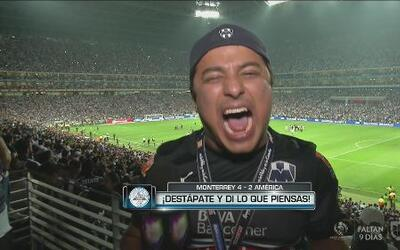 Destápate: Los aficionados del Monterrey explotan al llegar a la Final