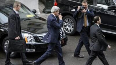 John Kerry está en Ginebra desde el jueves en el marco de las negociacio...