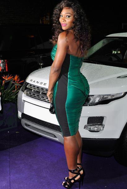 La estadounidense Serena Williams regresó a las pistas despu&eacu...
