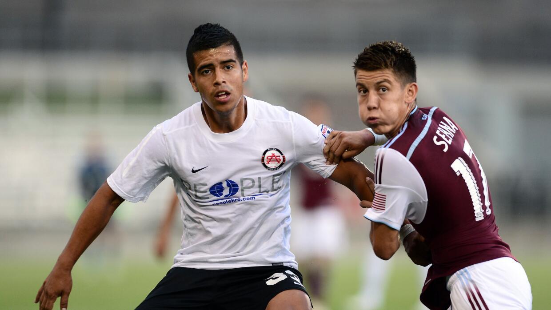 Junior Burgos enfrentó a equipos de la MLS en la US Open Cup.