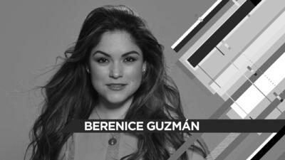 Berenice Guzmán: 'Sé lo que es perderlo todo'