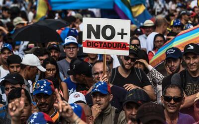 Opositores venezolanos, en Miami, piden drásticas medidas para encontrar...
