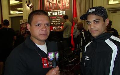 David Mijares el primer boxeador en pelear en la T-Mobile