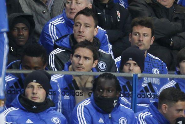 Se notó la ausencia de jugadores como John Terry y Frank Lampard,...