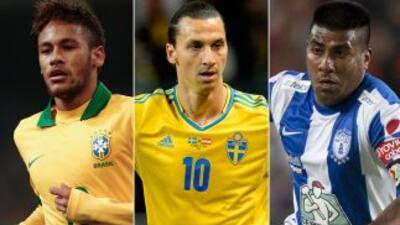 Neymar, Ibrahimovic y el 'Hachita' Ludueña son tres de los aspirantes a...